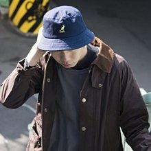 ☆AirRoom☆【現貨】KANGOL WASHED BUCKET HAT 水洗 漁夫帽 兩色 LOGO 袋鼠
