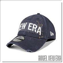 【ANGEL NEW ERA】NEW ERA 街頭款 塗鴉 經典字電繡 老帽 藏青色 9FORTY 潮流