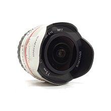 【台中青蘋果】Samyang 7.5mm f3.5 UMC Fish-Eye, M4/3 二手 鏡頭 #61560