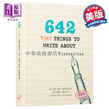 【中商原版】642件小東西:寫 英文原版 642 Tiny Things to Write About