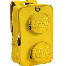 LEGO 樂高 ®Brick 黃色 積木磚背包  背包 開學書包 大容量 小學生書包 護脊書包 防水安全