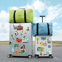 行李箱貼紙 ( 防水裝飾大貼紙 ST-30039-Part.2 ) DIY自己的風格 恐龍先生賣好貨恐龍先生賣好貨