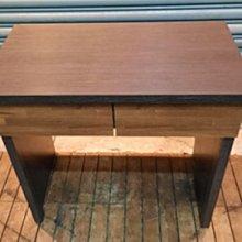 台中二手家具樂居 全新中古傢俱家電拍賣 A0226AJJE全新二抽書桌 辦公桌*2手桌椅 餐桌 會議桌 二手桌椅新竹苗栗