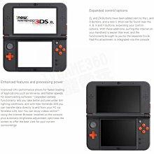 【二手主機】任天堂 NEW 3DSXL NEW3DSXL 主機 英文版 歐洲機 橘黑色 附贈充電器 裸裝【台中恐龍電玩】