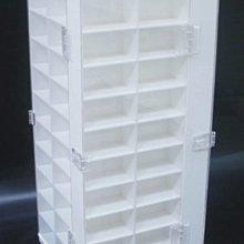 ☆尺寸可訂做 客製化☆ 壓克力旋轉台 旋轉架 旋轉收納盒 收藏盒+防塵掀門 可放120台 TOMICA TOMY 小汽車