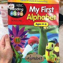 全新  my first alphabet 4~6歲 小朋友 英文學習書 ABC EEE