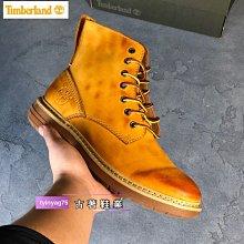 Timberland添柏嵐經典男靴固特異馬丁靴機車靴中幫休閒英倫風復古工裝靴