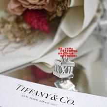 優買二手名牌店☆TIFFANY & CO.蒂芬妮 925 純銀 羅馬數字 鎖頭 墬子 墬頭 項鍊 手機吊飾 掛飾 配件