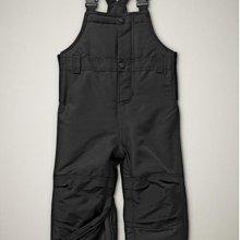 Ginny媽咪【Baby Gap】正品男童女童黑色吊帶滑雪褲現貨 5Y 5歲 110cm 115cm