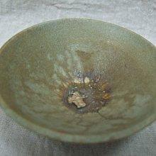 《老茶頭》柴燒湖水綠茶碗