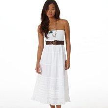 美國老鷹American Eagle女裝AE Smocked Skirt Dress S號溫柔性感氣質純棉無肩洋裝含運