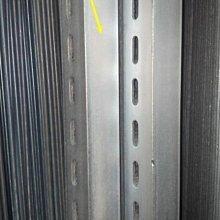 網螺天下※鍍鋅角鐵、沖孔角鐵50*50*4mm『單』孔『台灣製造』3米(10尺)長/支,每支219元