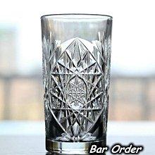 Bar Order~美國 精緻古典花紋飲杯 無鉛玻璃HighBall杯/長飲雞尾酒杯 465ml 超低價 現貨+預購