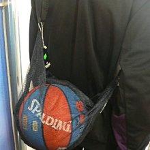 特價只要150.搶便宜過來看☆嘉義水上全宏☆㊣斯伯丁㊣SPALDING 單顆裝網袋 側背 球袋 籃球(深藍黑)