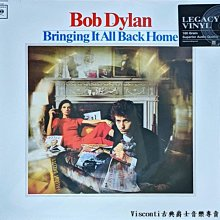 @【Sony】Bob Dylan:Bringing It All Back Home巴布.狄倫:一掃而空(黑膠唱片)