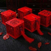 【螢螢傢飾】5個100元,不挑款,鏤空囍字喜糖盒,木質收納盒,精油盒,婚禮用品,禮盒裝飾,婚宴小物。