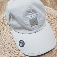 二手 日製 Heal Creek golf wear 淺卡其色 棒球帽 遮陽帽