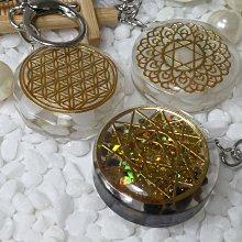 《精品百貨》壓克力水晶/大衛星造型鑰匙圈 / 掛件