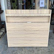 香榭二手家具*全新品 梧桐橡木色單人加大3.5尺 插座式充電床頭片(木心板)-床片-床頭櫃-床頭箱-雙人床-床架-寢具