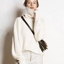 高領毛衣 DANDT 慵懶針織高領打底毛衣(20 DEC)同風格請在賣場搜尋 SHA 或 歐美服飾