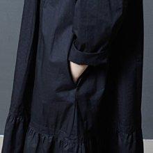 ♡ 右米衣飾 ♡【小立領純色連衣裙】大碼女裝 胖mm 棉花糖女孩 日系原創 大碼連衣裙 輕鬆穿搭 顯瘦遮肚 小立領連衣裙