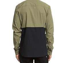 DC Shoes 長袖襯衫【L】【XL】雙色 橄欖綠/黑色 PUBLICITY EDYWT03202 全新 現貨