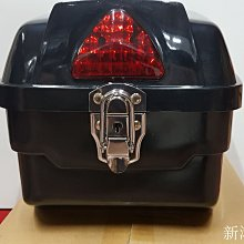 【新鴻昌】TY218 小後箱 後行李箱 置物箱 後箱 黑色 行李箱