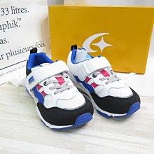 MOONSTAR 日本月星 CR HI系列 3E寬楦 中童運動鞋 MSC22935 白x藍【iSport愛運動】