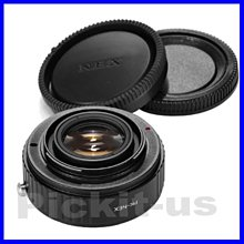 Lens Turbo減焦增光 PENTAX PK鏡頭轉Sony NEX E卡口機身轉接環A7II A7RII A7SII