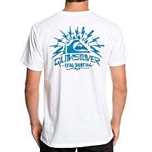 Quiksilver Blast Off 短袖T恤 XL 白色 全新 現貨 AQYZT05930