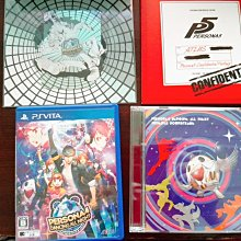 PSV女神異聞錄4 Persona 4 Dancing / All Night Crazy Value Pack 限定版