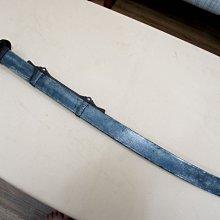 名家99 古董系列 清代鐵裝魚頭型官腰刀