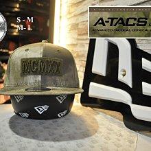New Era x A-Tacs Camo MCMXX 9Fifty 軍事迷彩聯名款大地色1920年後扣棒球帽分尺寸
