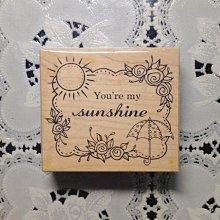 貝登堡印章~G章(GT-4923)你是我的陽光