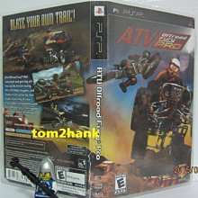 出清二手正版PSP遊戲 ATV Offroad Fury Pro ATV 越野之怒 美版