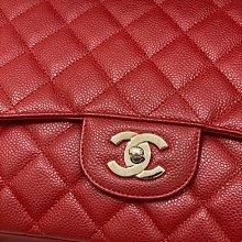 Chanel maxi jumbo 33公分銀鍊單蓋大CoCo(已售出)