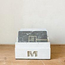 曙MUSE|積木造型水泥四層杯墊架 名片架