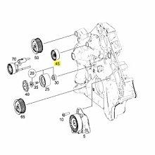 W219 CLS M113 2005- CLS55 AMG 6溝 平面 惰輪 皮帶盤 (固定用) 1562020819