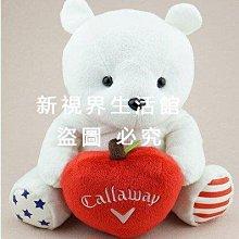 日本卡拉威毛絨玩具小熊高爾夫桿Drivre壹號球桿套男女送原包裝盒