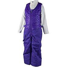 【荳荳物語】美國品牌Obermey鋪棉保暖背心吊帶童滑雪褲,防水係數10k,2380元