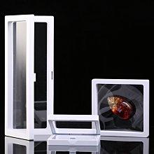 有一間店-PE薄膜懸浮包裝盒透明首飾展示架戒指吊墜盒佛珠盒韌性強防塵氧化