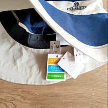 全新 日版【Vivienne Westwood】大帽簷 遮陽帽 漁夫帽 抗UV 防曬 可調節頭圍