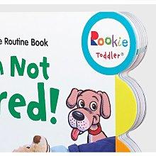 英文原版 我還沒覺得困 Im Not Tired!:Bedtime Routine兒童寶寶睡前日常行為習慣培養及規范繪