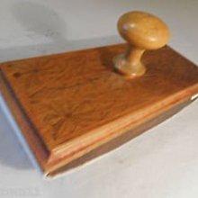 老款木質壓墨器Ink Blotter