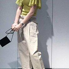 SaNDoN x『note et silence』 日本頂級品牌 你今天很Chic了嗎? 法式九分雅痞寬褲 180615