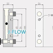 (金墉材料) 氣體流量計 面積式流量計 浮子流量計 Dwyer purgemeter Air N2 120LPM