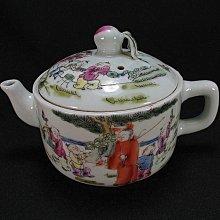 【寶貝多】♞a1166 清代同治粉彩茶壺