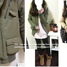 *轉  **TRee**韓國進口超級暖呼呼泰迪毛裡保暖厚鋪棉外套  軍綠  全新韓製  1000含運  出清賠本賣