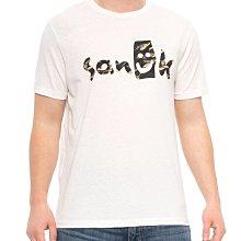 Sanuk 短袖T恤【S】【M】有機棉 環保 Camo Logo白色 全新 現貨