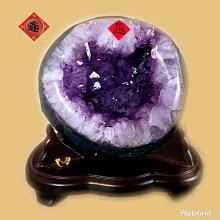 🏆【168 精品】🏆 高品項巴西頂級紫晶洞,重2.85kg 寬16cm高18cm 洞深6cm【C37】